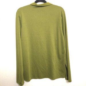 Patagonia Shirts - Patagonia 1/4 Zip Green Size Large